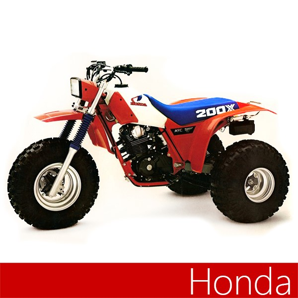 maier replacement front and rear fender for honda atc 200x
