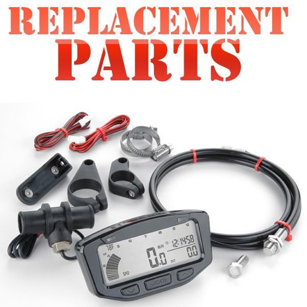 Trail Tech digital gauge replacement parts