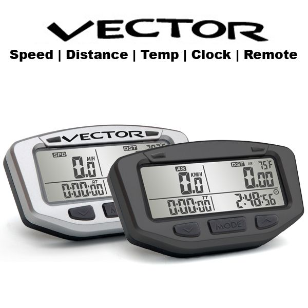 Trail Tech vector gauge - atv