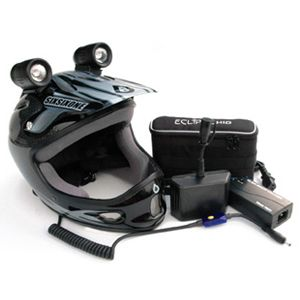 Trail Tech helmet lights