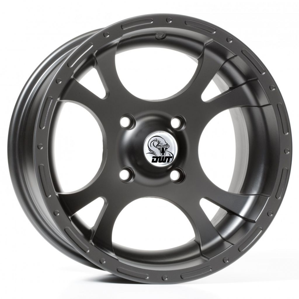 Douglas Wheels rs12 rattlesnake - black