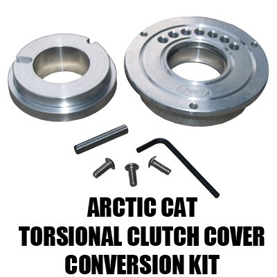 Straightline Performance arctic cat torsional clutch cover conversion kit