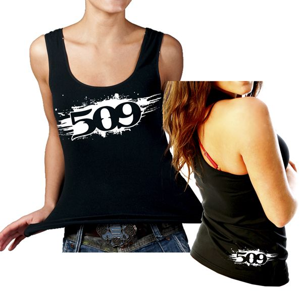 509 womens tank top - 509 painted