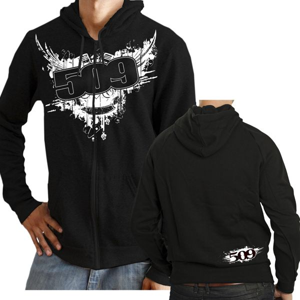 509 zip hoody - 509 piston