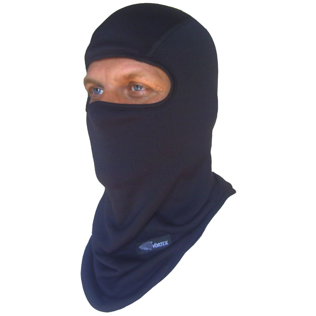 Vortex Clothing microfleece balaclava with neckwarmer (v4502)