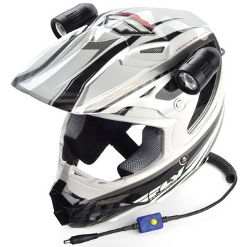 Trail Tech equinox led helmet lights
