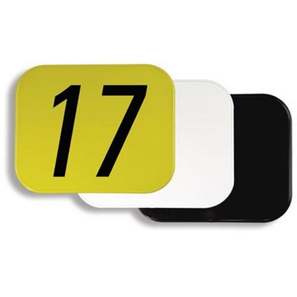 "Maier Body Plastic 10"" x 12"" number plates"