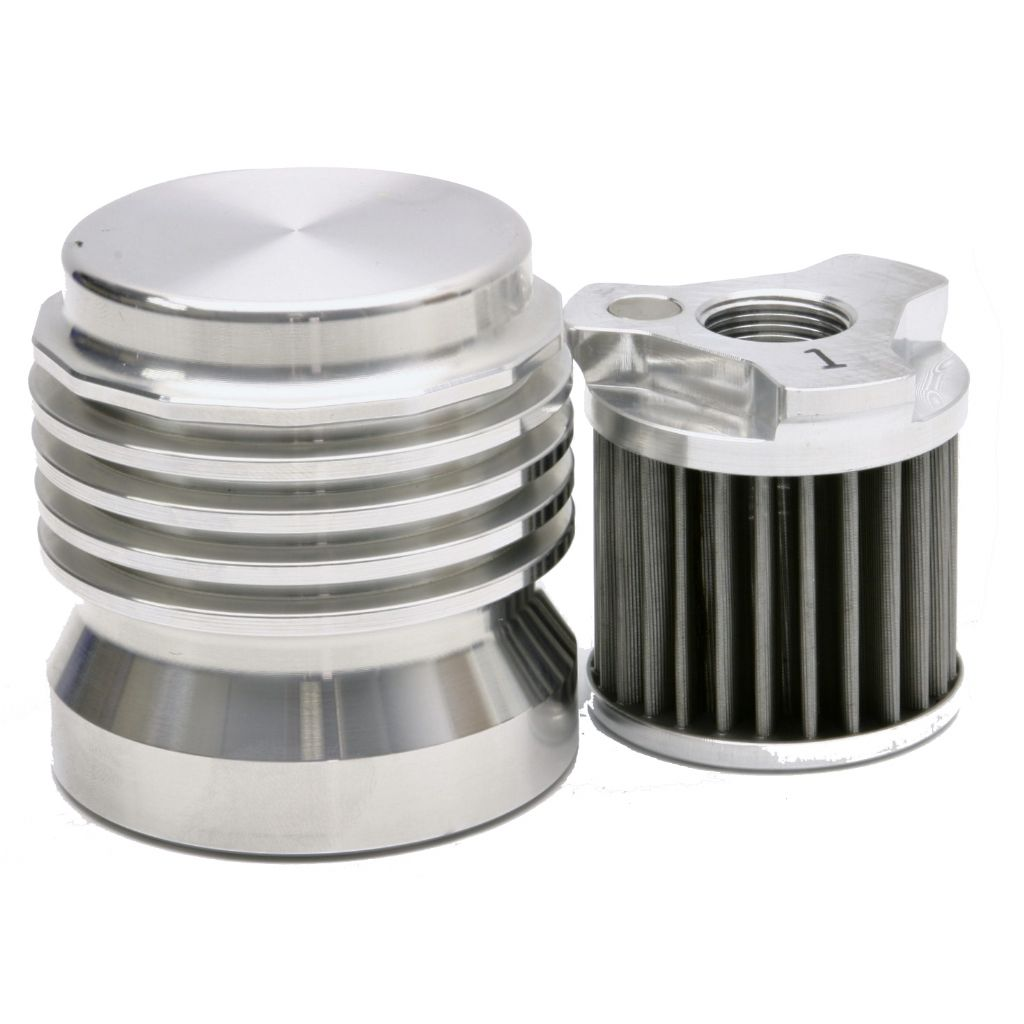 K&P Engineering stainless steel reusable oil filters